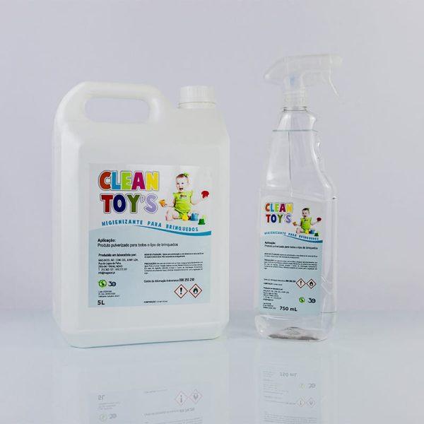 Higienizante para brinquedos
